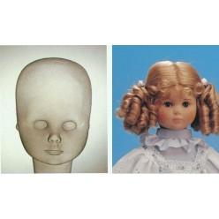 Маска mold лица для текстильной куклы
