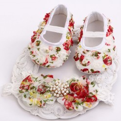 Комплект повязка и туфельки (арт. O-009)