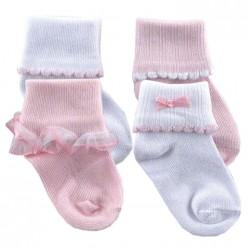 Кружевные носочки для реборна (арт. O-031)