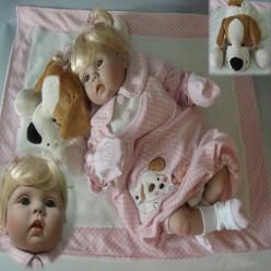 Reborn кукла с собачкой (арт. 8-11)
