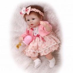 Малышка реборн в платье (арт. 8-24)