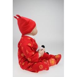 Кукла  reborn с пандой (арт. 8-2)