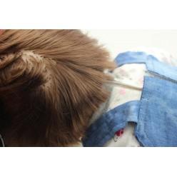 Малышка пухлик в джинсовом костюмчике (арт. 8-13)
