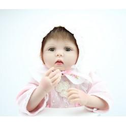 Reborn кукла пухлик с розовым бантом (арт. 8-12)