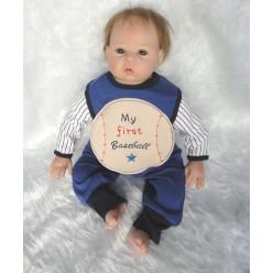 Кукла  реборн  мальчик бейсболист (арт. 9-7)
