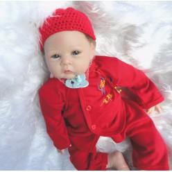 Кукла  reborn в красном (арт. 9-5)