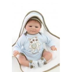 Кукла  reborn в пинетках (арт. 7-1)