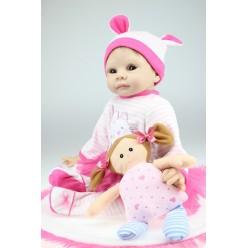 Кукла  reborn  в розовом (арт. 4-1)