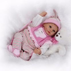 Reborn кукла девочка  в розовом (арт. 4-18)