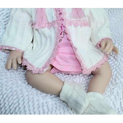 Реборн кукла в носочках (арт. 4-10)