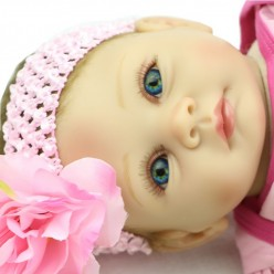 Reborn куколка с розовым бантом (арт. 4-3)