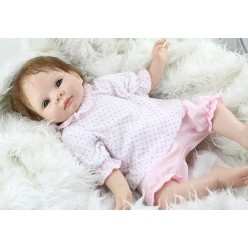 Кукла  reborn  в розовом (арт. 4-2)