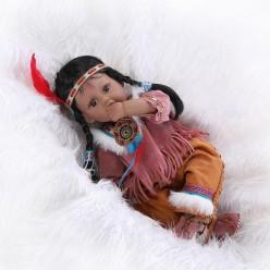 Поющая кукла реборн в шалаше (арт. 19-1)