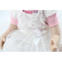 Куколка реборн в белом (арт.1-15)