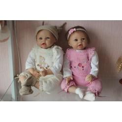 Reborn кукла двойняшки (арт.1-11)
