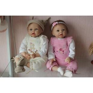 Reborn кукла двойняшки