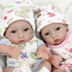 Маленькие реборны двойняшки