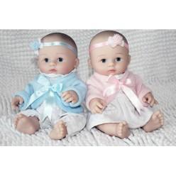 Имитация  реборна Мини куклы двойняшки (арт. 5-8)