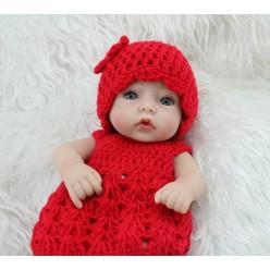 Мини кукла красная шапочка (арт. 5-12)