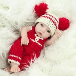 Мини кукла с помпончиками (арт. 5-13)