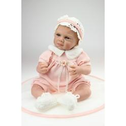 Реборн куколка  в розовом (арт. 15-2)