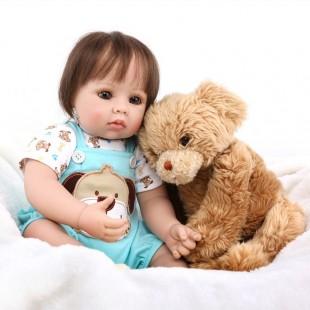Реборн кукла мальчик с большими глазками