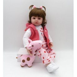 Реборн кукла с хвостиками