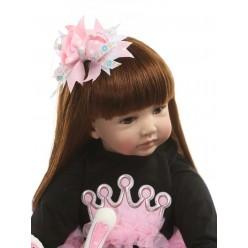 Реборн кукла с длинными волосами принцесса (арт. 18-20)