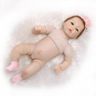 Кукла  reborn девочка с полуторсом