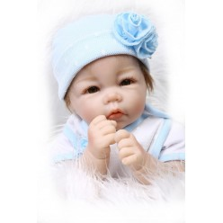 Кукла  reborn мальчик с полуторсом (арт. 17-2)