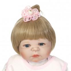 Cиликоновая кукла реборн блондинка (арт.2-77)