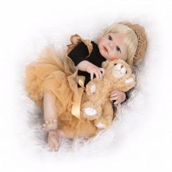 Cиликоновая кукла реборн блондинка принцесса (арт.2-79)