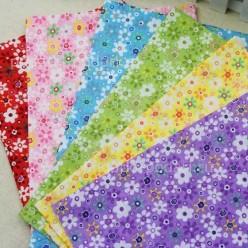 Набор ткани в цветочек