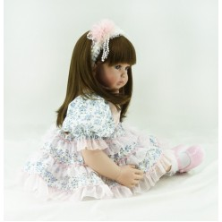 Кукла  принцесса Гжелька (арт. 18-5)